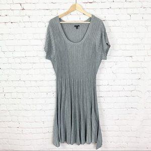 Torrid - Gray Sweater Dress